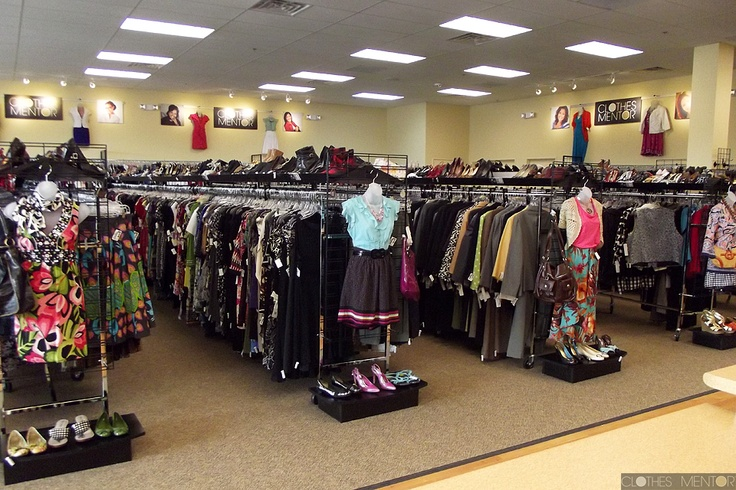 Inside our Clothes Mentor women's clothing resale shop in Highland ...