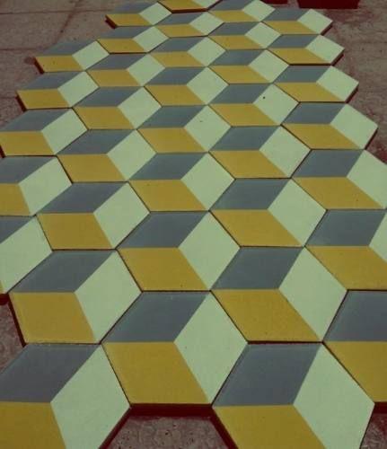 Piso y mosaico de pasta loseta retro pisos pinterest for Mosaico para piso