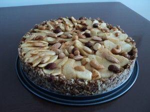 Suikervrije appeltaart met alleen natuurlijke ingrediënten! | Voedzo