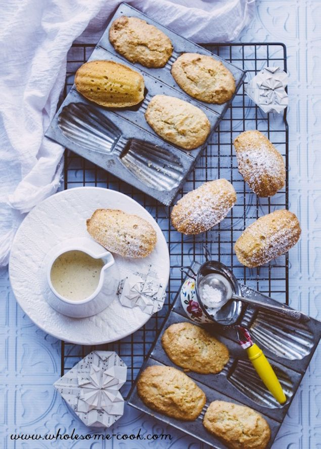 How to Make Gluten-Free Lemon Madelines | Recipe | Almonds ...