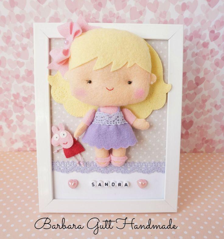 Barbara Handmade...: Obrazek dla Sandry / Picture for Sandra