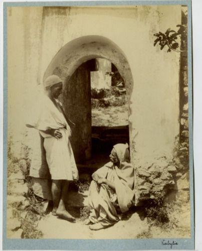 Algérie, Kabylie Vintage albumen print Tirage albuminé 21x27 Circa 1875
