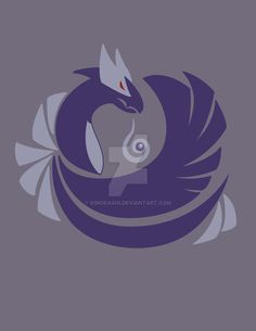 Tainted Silver - Shadow Lugia by kinokashi.deviantart.com on @DeviantArt