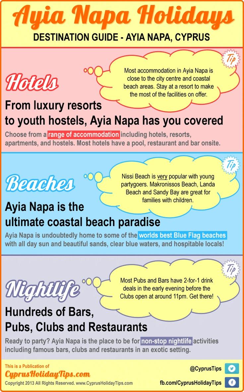 Ayia Napa Holidays - DESTINATION GUIDE - AYIA NAPA, CYPRUS