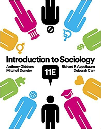 Sociology introduction pdf to giddens