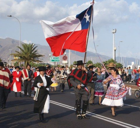 Independence Day; Chile; September 18; Commemorates the first declaration of independence from Spain, on Sept. 18, 1810. Following bitter warfare, independence was attained on Feb. 12, 1818.