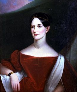 Color portrait of Sarah Yorke Jackson (16 July 1803 – 23 Aug 1887) was the daughter-in-law of U.S. President Andrew Jackson.  She served as White House hostess and unofficial First Lady of the United States from 26 Nov 1834 to 4 March 1837.  She lived at the Hermitage plantation with her husband and father-in-law until the former President's death in 1845.  The couple continued to live at the Hermitage until shortly before the Civil War when they moved to Mississippi.
