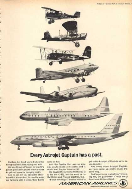 American Airlines Astrojet Captain (1963)