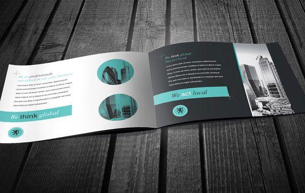 Beautiful business brochure design ideas 2 20+ Simple Yet Beautiful Brochure Design Inspiration & Templates