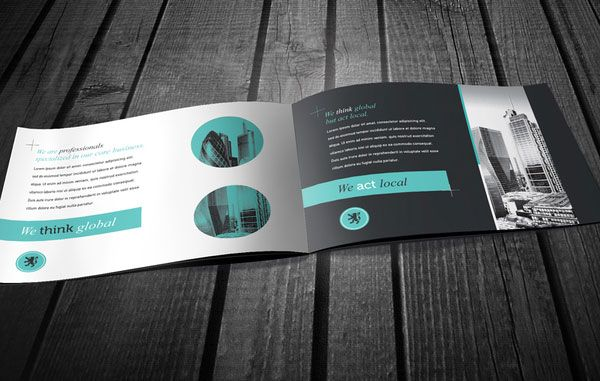 Beautiful business brochure design ideas 2 20+ Simple Yet Beautiful Brochure Design Inspiration & Templates