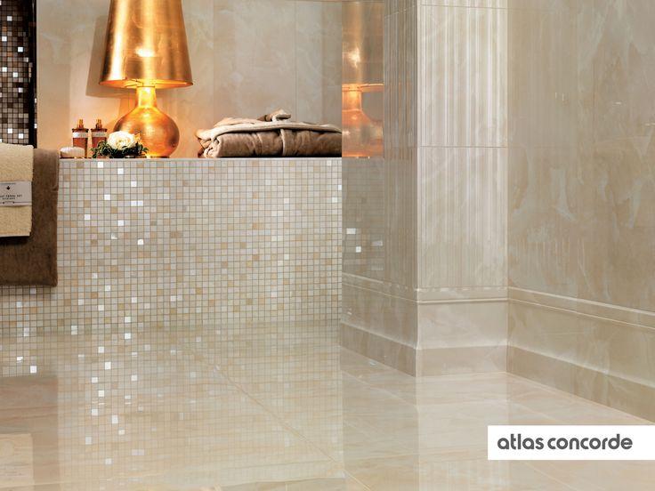 #MARVEL champagne lesena    #Floor design   #AtlasConcorde   #Tiles   #Ceramic   #PorcelainTiles