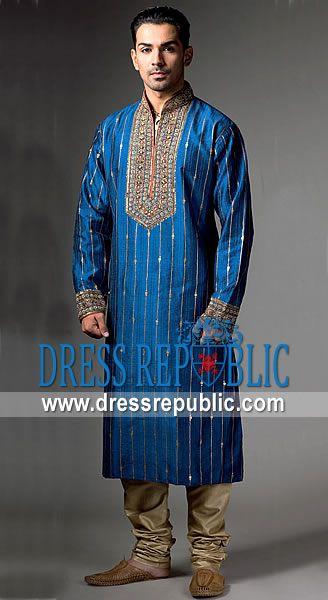 Style DRM1210, Product code: DRM1210, by www.dressrepublic.com - Keywords: Pakistani Designer Mens Shalwar Kameez Collection 2011, Salwar Kameez for Men 2011 Collection