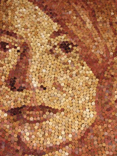 cork art .... OK, that impresses me