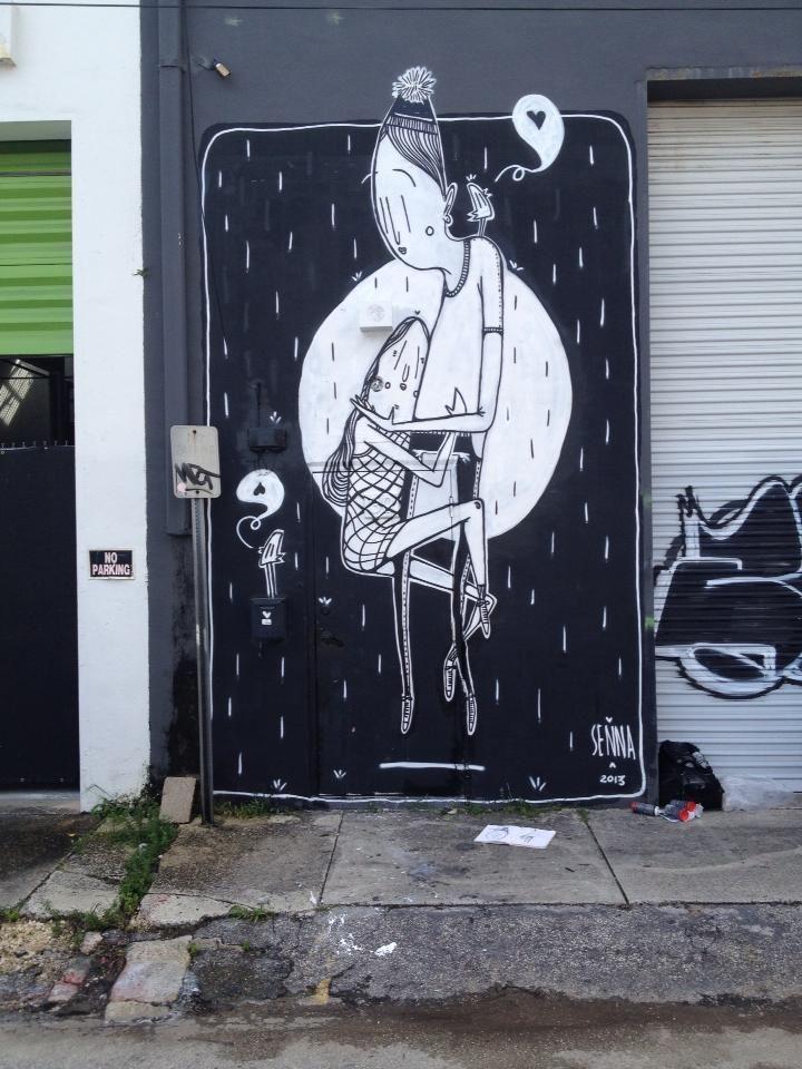 The Love-Filled Street Art of Alex Senna - My Modern Metropolis