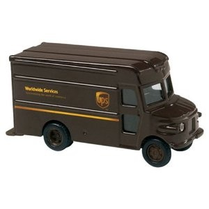 "UNITED PARCEL SERVICE UPS 4"" P-600 Package Car Delivery Truck"