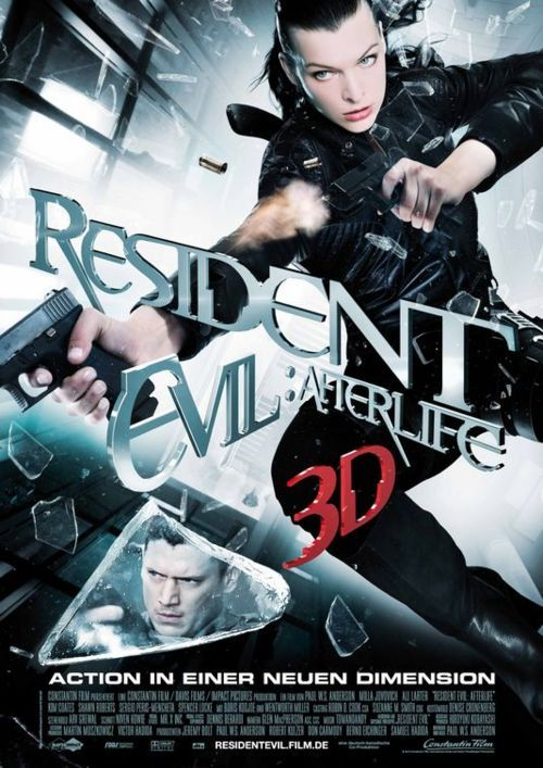 Resident Evil: Afterlife~ Wentworth and Mila Jovovich, doesn't get much better!