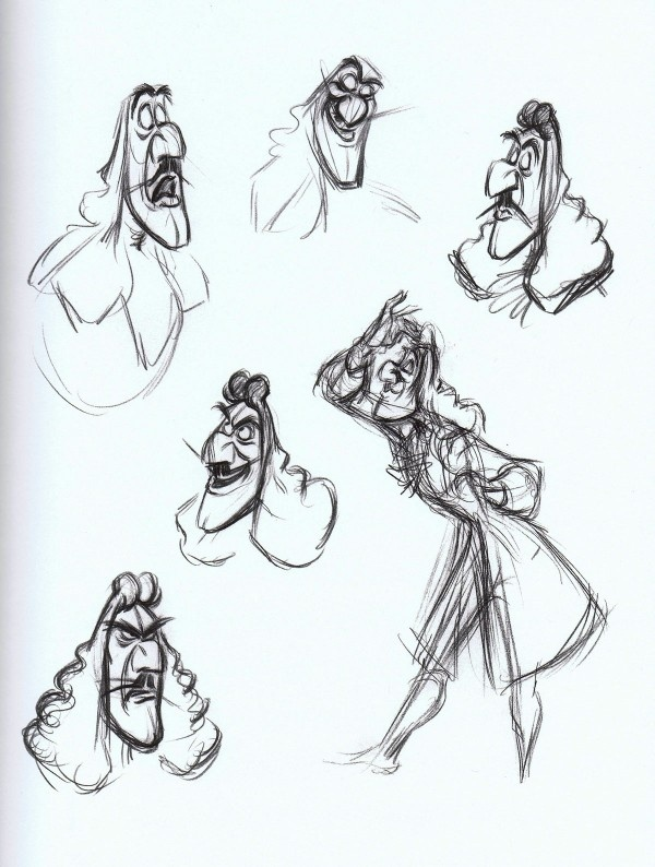 Captain Hook Disney Concept Art || Captain Hook is one of my favorite Disney villains :)