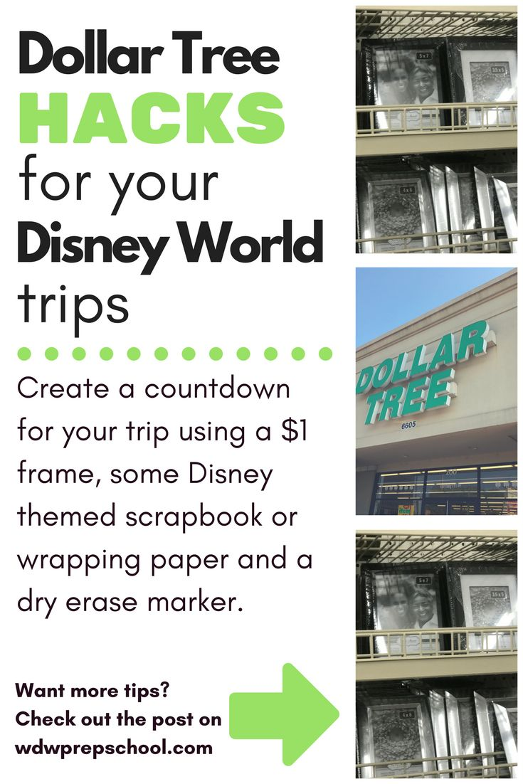 Countdown calendars are a fun way to pass the days before a trip | Learn how to make an inexpensive one for your trip | Save money on Disney World trips | Disney World tips