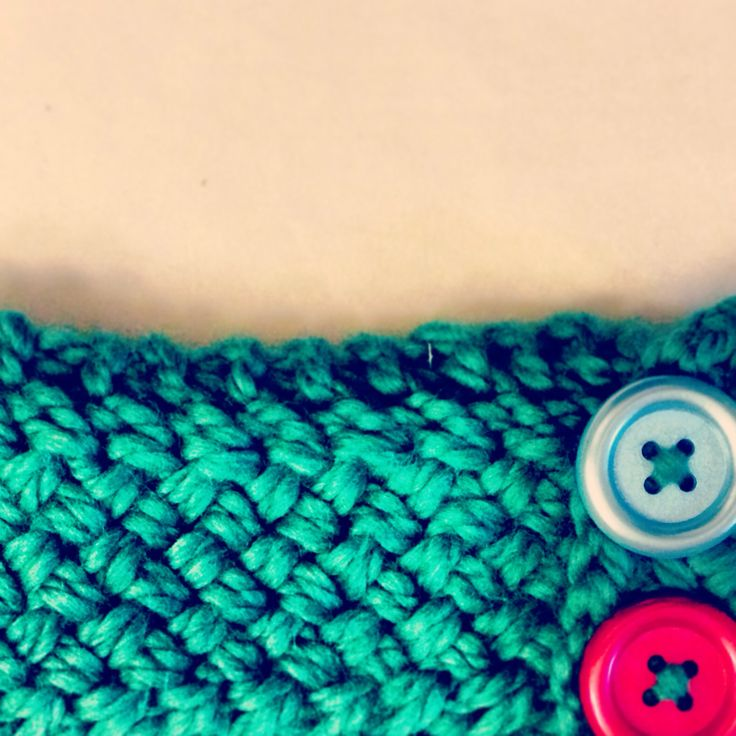 Woven stitch headband