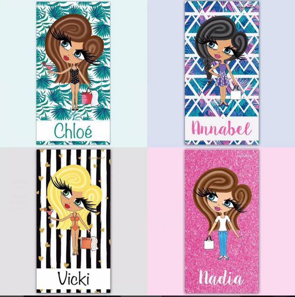 Some of the background designs available on the brand new HunniBunni beach towels ☀️ ❤www.hunnibunniboutique.co.uk