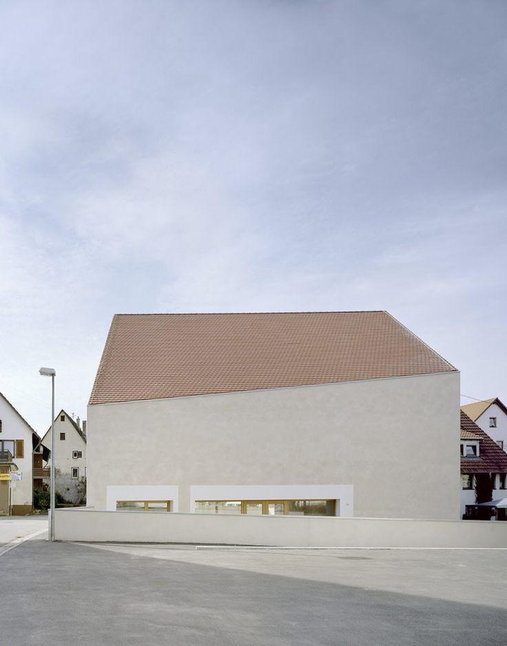 KOR Architekten - St. Laurentius church, Tübingen 2010.