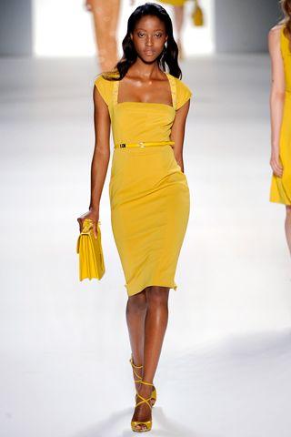 amarillo canario vestidos | Moda Vestidos