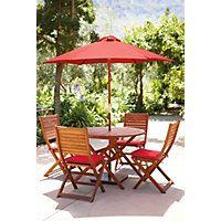 Peru Round Garden Furniture Set - 4 Seater