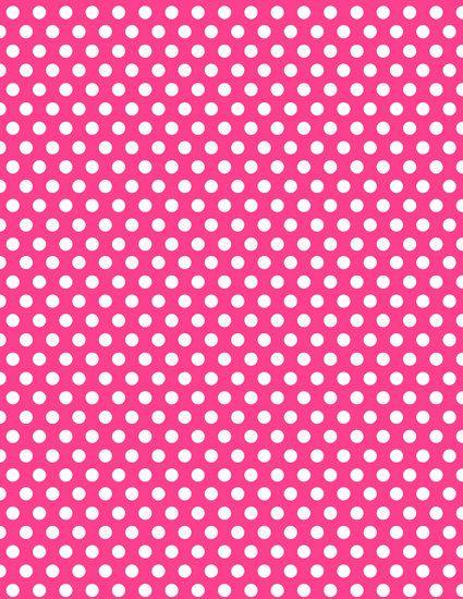 Best 25 polka dot paper ideas on pinterest polka dot for Pink polka dot decorations