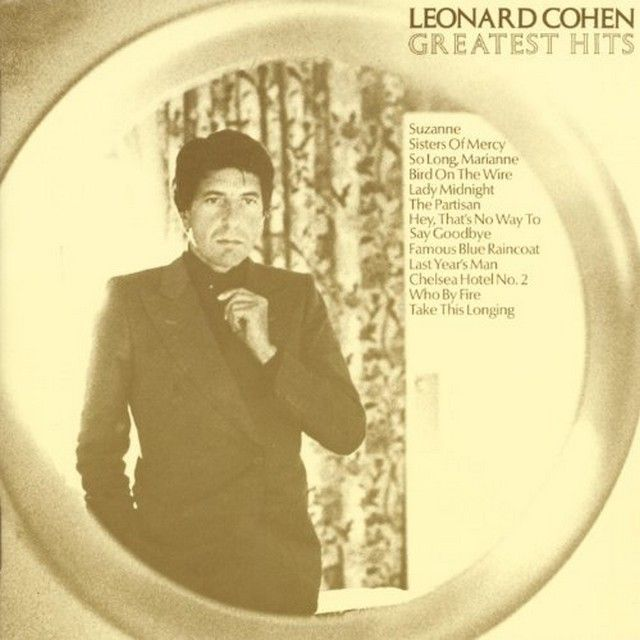 "Leonard Cohen ""Greatest Hits"""