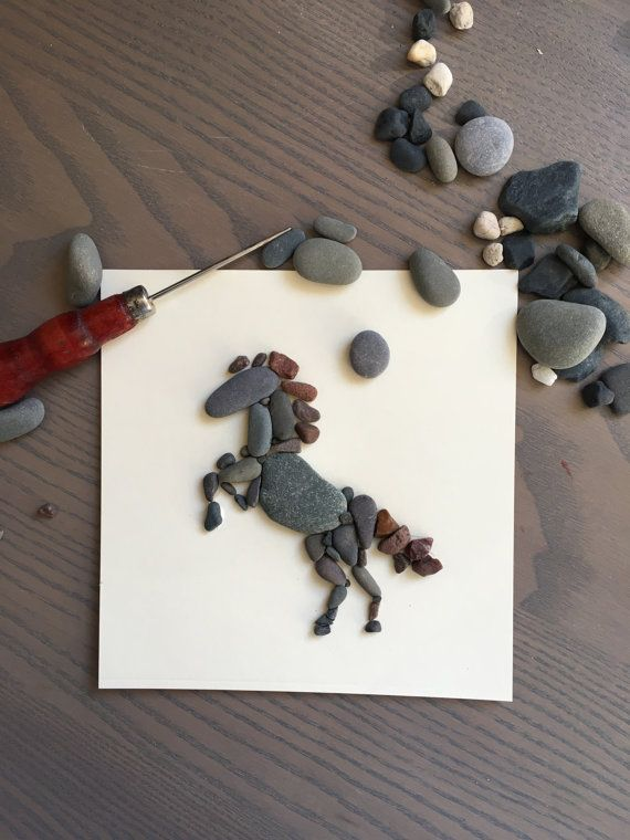 Sarahs Craft Chest Pebble Art ...............Creating emotion with natural materials. APOLOGIES but 3 x 3 inch frames in RUSTIC WOOD are UNAVAILABLE, at this time. Every picture is unique as no pebble is ever the same; personal bespoke orders are welcome so take the chance to set your memories in stone. This picture will be dressed with ribbon or string (similarly to the picture above) and wrapped in tissue, before it is carefully packaged for posting. The picture will be recreated to…