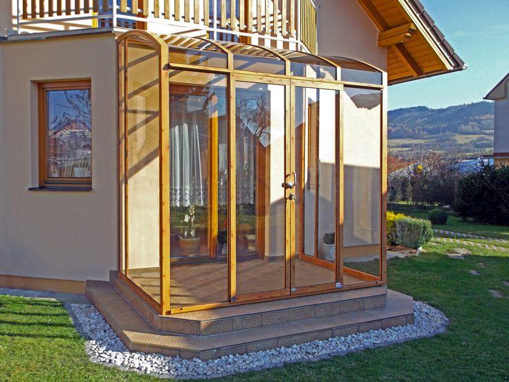 Zastřešení terasy CORSO lze zcela přizpůsobit velikosti vaší terasy.