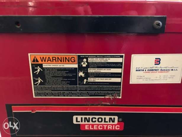 Lincoln arc welding Machine DC 600 الرفاع -  3