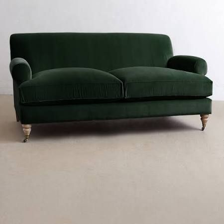 Best 25+ Dark green couches ideas on Pinterest