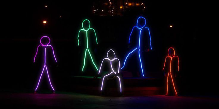 LED Stick Man Costumes