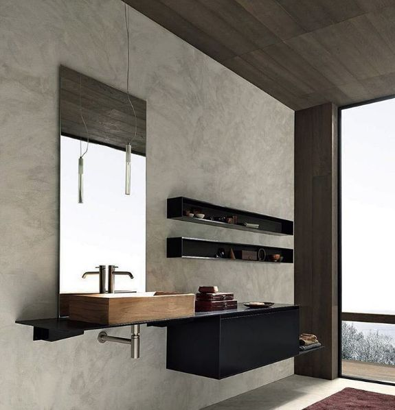 'Blade' bathroom luxury from Modulnova.   Exclusively available in Australia & NZ through the all new Modulnova Sydney Studio - visit our profile on HOUZZ for details on these stunning finishes.  A stunning range of design options are available – link in bio.