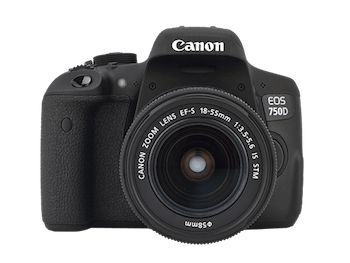 Win a Canon EOS 750D DSLR Camera Bundle {WW} except some... sweepstakes IFTTT reddit giveaways freebies contests