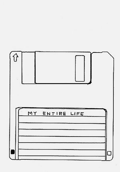 Trying to image digital copies of memories all placed in a floppy disk, haha. Wonder what file type they'd be