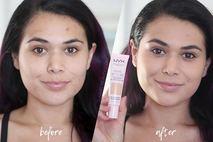 Review Nyx Bare With Me Tinted Skin Veil Slashed Beauty Moisturizer For Dry Skin Cream For Oily Skin Skin