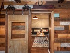 How to Build a Reclaimed Wood Sliding Door | how-tos | DIY