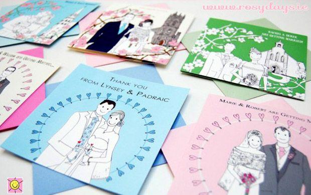 Wedding Gift Etiquette Ireland : ... wedding thank you cards wedding gifts card ideas irish stationery