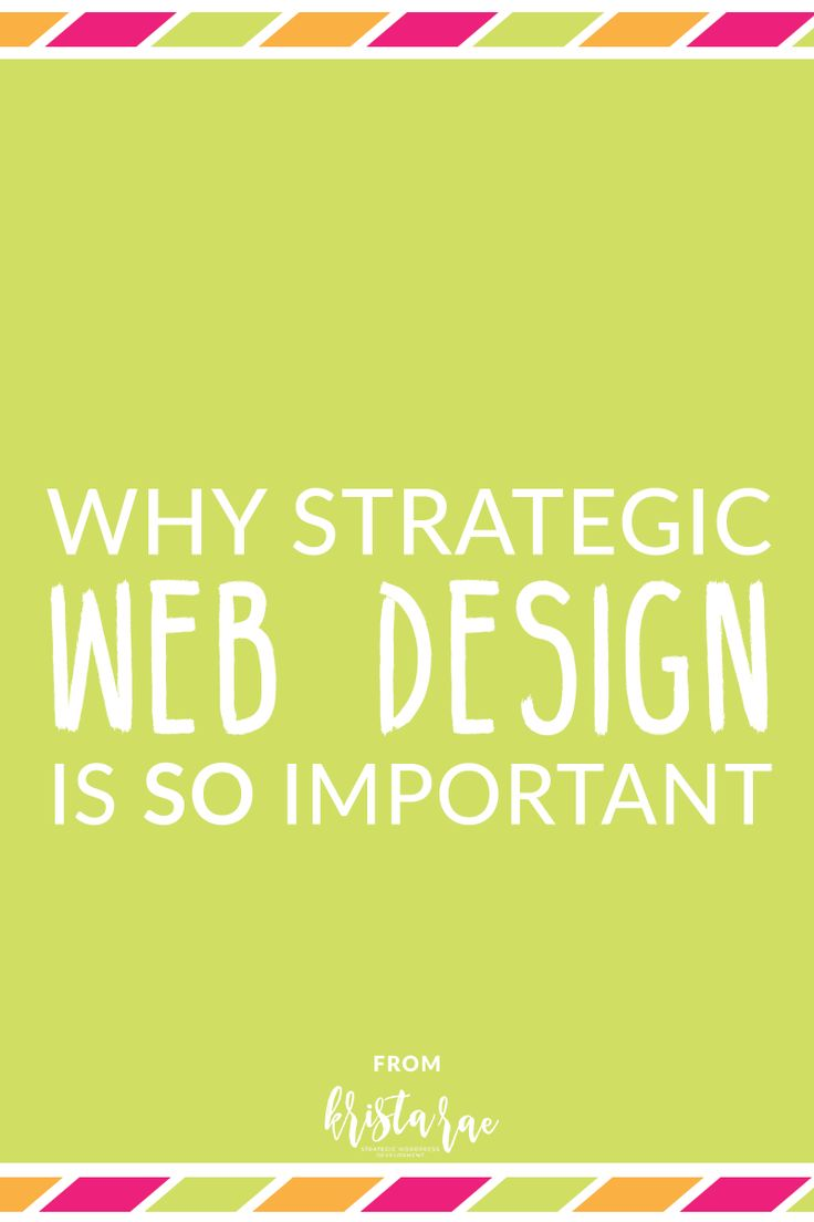 If you don't understand why strategic web design is so important, you might also struggle to understand why it makes sense for you to charge more if you do design strategically.