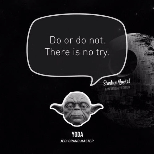 Jedi Master Yoda Quotes: Best 25+ Yoda Try Quote Ideas On Pinterest