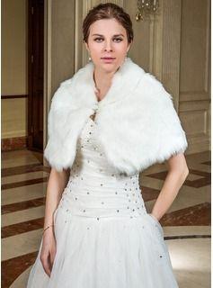 Wraps - $29.99 - Faux Fur Wedding Wrap  http://www.dressfirst.com/Faux-Fur-Wedding-Wrap-013040698-g40698
