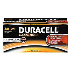 Duracell Coppertop Alkaline AA Batteries 144pk * Find out more about the great product at the image link.