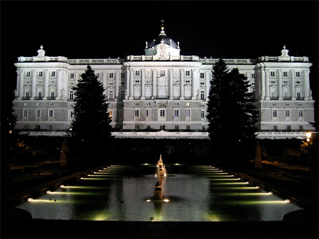 The Palacio Real de Madrid is the official residence of the King of Spain and the biggest palace in Europe.