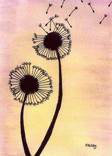 dandelions. Tat idea