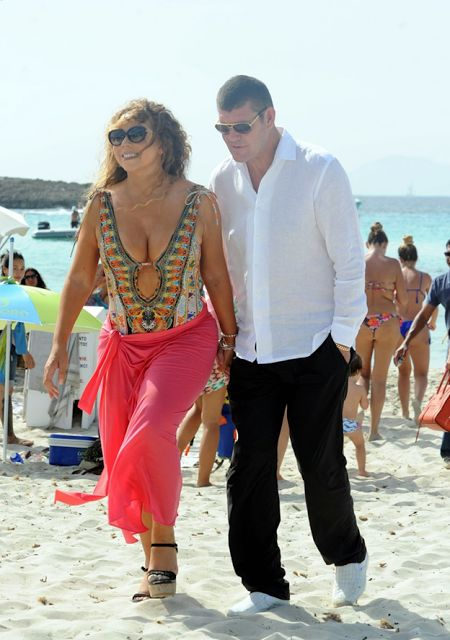 Ekpo Esito Blog: Mariah Carey and James Packer on vacation in Spain...
