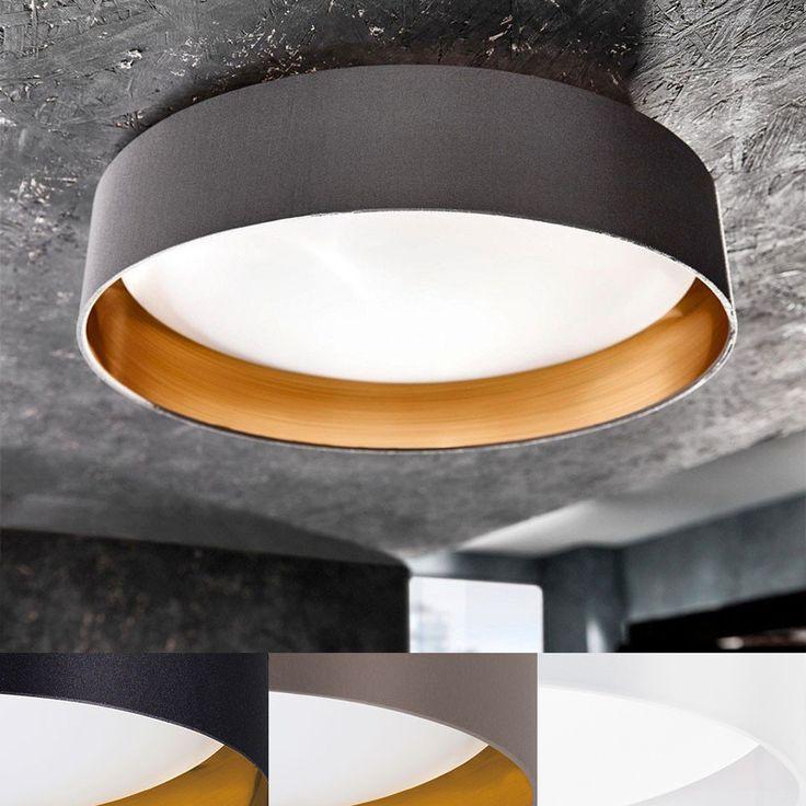 Maserlo er en serie klassiske og vakre taklamper med runde skjermer i stoff i sort eller cappucino farge. Innsiden har en vakker gull farge som vil gi deg et behagelig, gyllent lys. Om du vil ha et renere og mindre gyllent alternativ får du den også i blank hvit skjerm med hvit innside. Denne plafonden har en indre skjerm i hvit plast og varmhvite LED lyskilder.