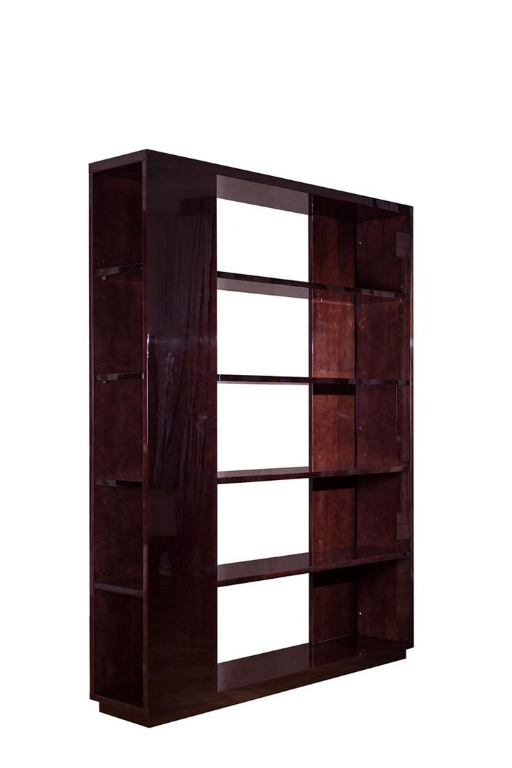 Open double-sided wooden bookcase MB1 | Bookcase - HUGUES CHEVALIER