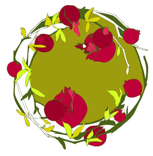 pomegranate - green tea